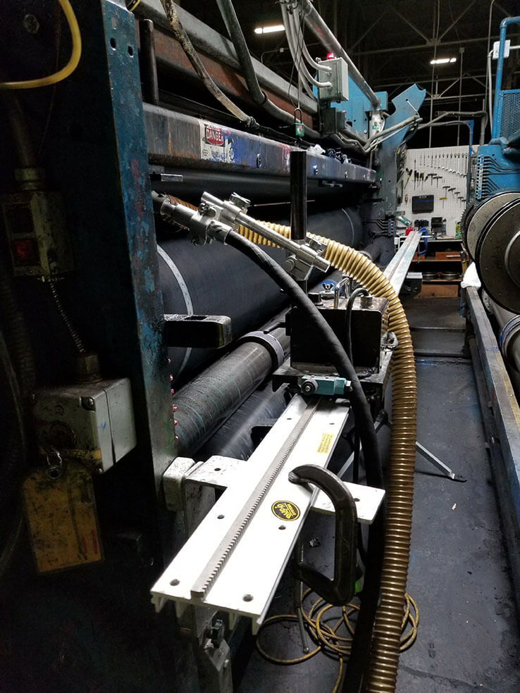 On Press Cleaning